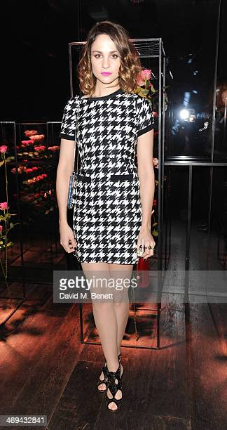 Tuppence Middleton attends the Lancome preBAFTA party hosted by Lily Collins at The London Edition Hotel on February 14 2014 in London England