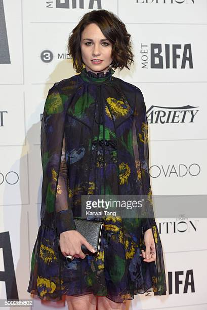 Tuppence Middleton attends the Moet British Independent Film Awards at Old Billingsgate Market on December 6 2015 in London England