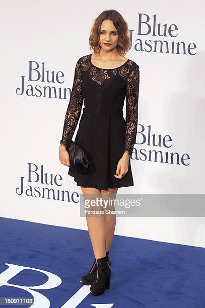 Tuppence Middleton attends the UK premiere of 'Blue Jasmine' at Odeon West End on September 17 2013 in London England