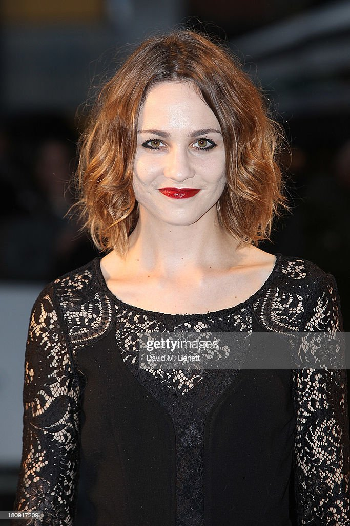 Tuppence Middleton attends the UK premiere of 'Blue Jasmine' at Odeon West End on September 17, 2013 in London, England.