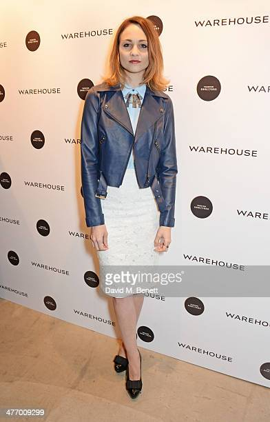 Tuppence Middleton attends the Warehouse Oxford Street Flagship Store Launch on March 6 2014 in London England