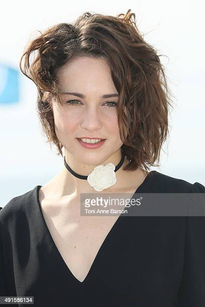 Tuppence Middleton attends 'War Peace' photocall on La Croisette on October 6 2015 in Cannes France