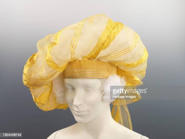 Turban, British, circa 1820. Artist Unknown.