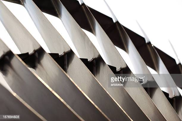Turbine Fan Blades Abstract