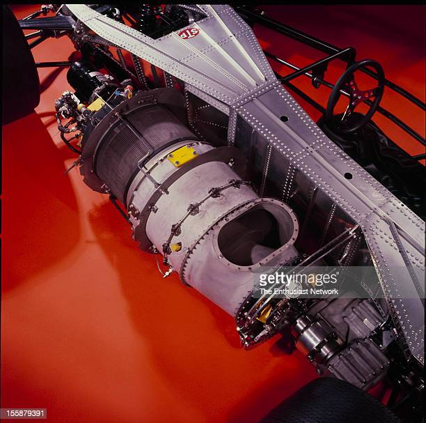 1967 stp turbine indy car getty images turbine indy car detail photos of the chassis and turbine engine with the body work removed voltagebd Images