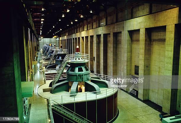 Turbinen In Hydroelectric Plant