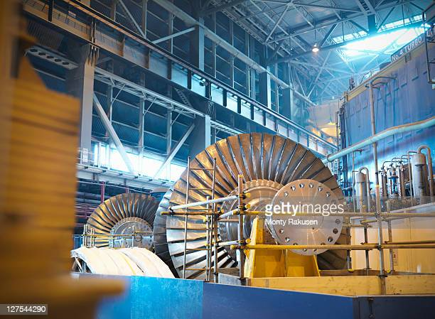turbines in power station - generator stock pictures, royalty-free photos & images