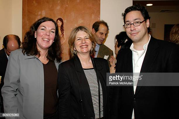 Turbitt Kathy McGilbery and Daniel Seark attend Photography Poetic Vision Exhibition Opening at Heller Gallery on March 14 2007 in New York City