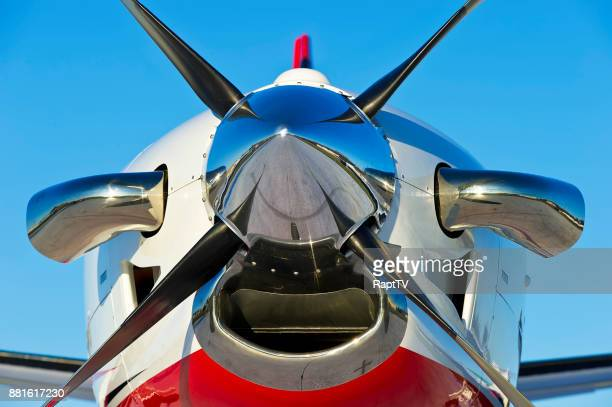 A Turbo Prop Private Airplane