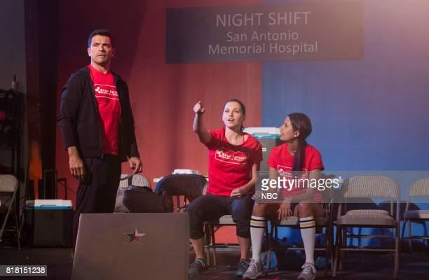 SHIFT 'Turbulence' Episode 405 Pictured Mark Consuelos as Cain Diaz Jill Flint as Jordan Alexander Tanaya Beatty as Shannon Rivera