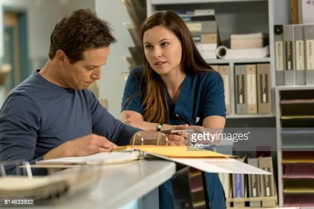 SHIFT 'Turbulence' Episode 405 Pictured Scott Wolf as Scott Clemmens Jill Flint as Jordan Alexander