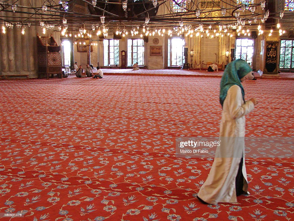 In The Mosque : News Photo