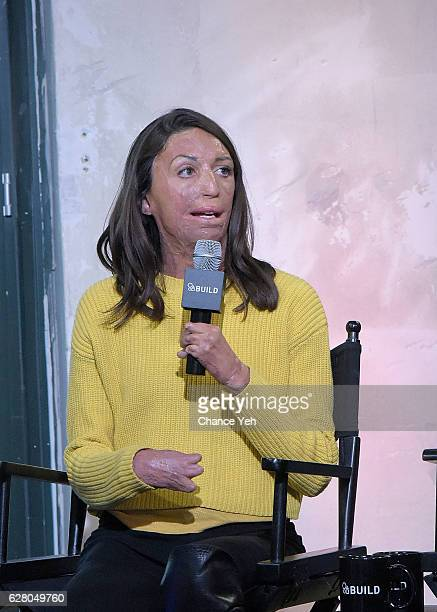 Turia Pitt attends The Build Series to discuss 'Ironman World Championship' at AOL HQ on December 6 2016 in New York City
