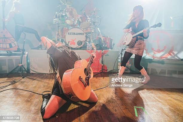 Turid Jorgensen Marianne Sveen Anne Marit Bergheim and Solveig Heilo perform on stage atat Scala on May 11 2015 in London United Kingdom