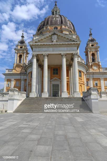 Turin. Basilica of Superga