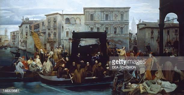 Turin, Galleria Civica D'Arte Moderna E Contemporanea Titian's funerals by Enrico Gamba .