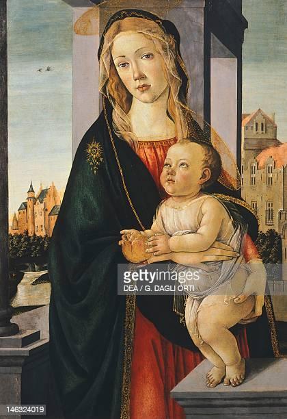 Turin Galleria Sabauda Madonna with child by Sandro Botticelli