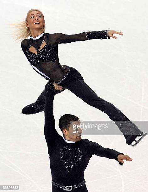 CORRECTION BYLINE German pair Aliona Savchenko and Robin Szolkowy perform during the Pairs Short Program of the Figure skating competition at the...