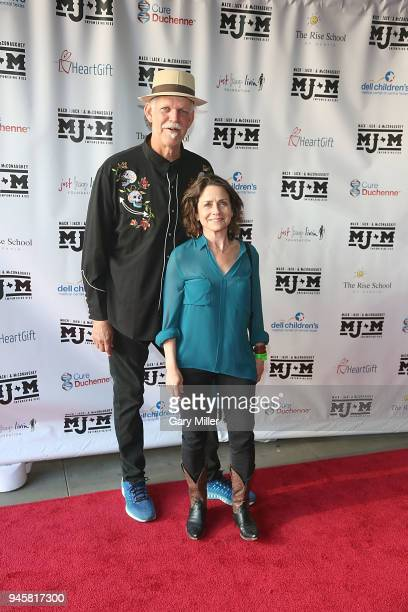Turk Pipkin and Christy Pipkin attend the Mack Jack McConaughey charity gala at ACL Live on April 12 2018 in Austin Texas