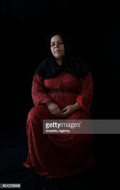 Turkan Doganlar hosts her relatives who escaped from Tell Abyad district of Syria's Raqqa province due to the 6yearlong ongoing Syrian civil war...