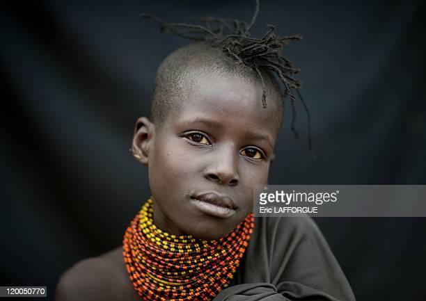Turkana girl on July 162009 in Kenya