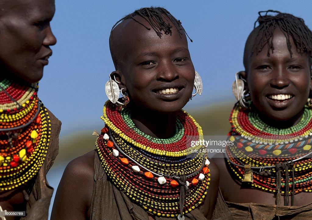 Turkana Girls In Kenya : News Photo