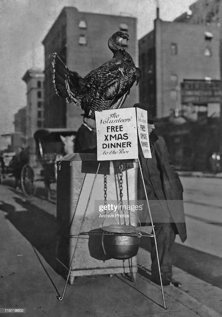 Free Christmas Dinner : News Photo