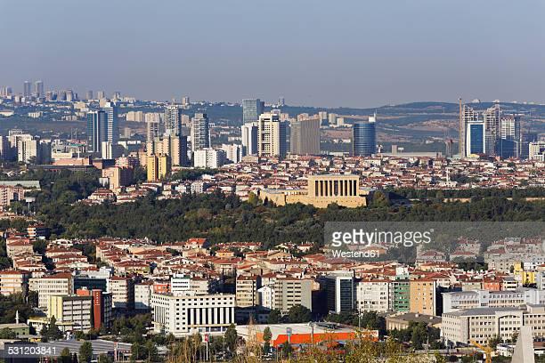 Turkey, Ankara, View of the city