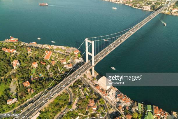 Turkey, Bosporus bridge and the european Istanbul