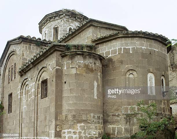 Turkey Cappadocia Guzelyurt Apses of the Greek Orthodox church of Saint Gregory Central Antatolia