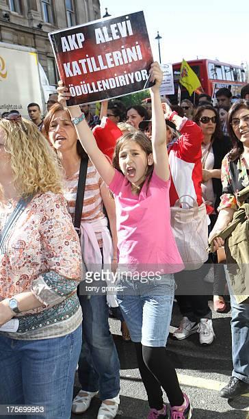 Turkey demo in london