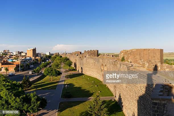 Turkey, Diyarbakir, view to city wall