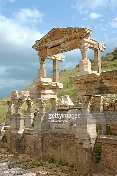 Turkey, Ephesus, Fountain of Trajan
