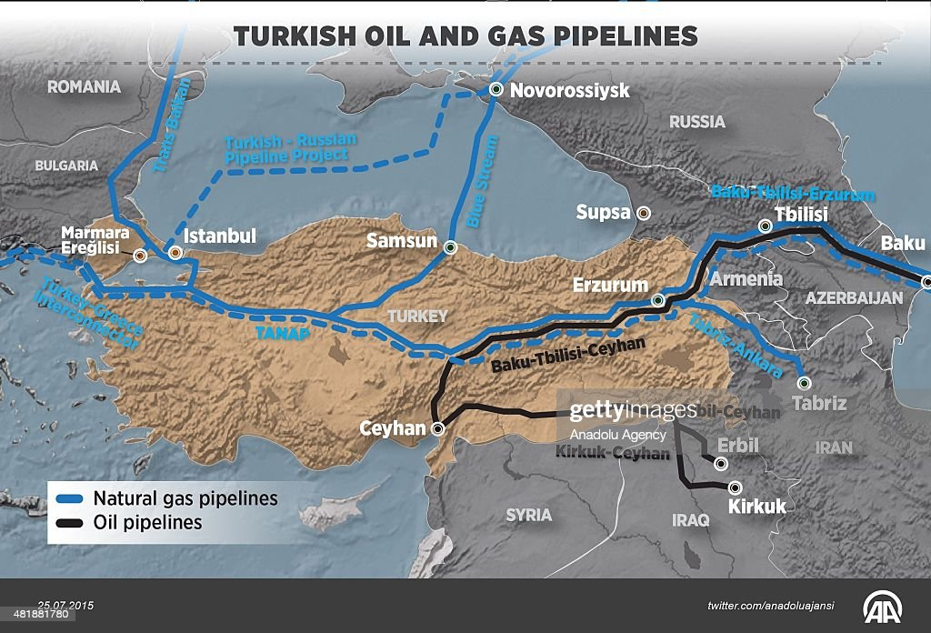Turkey well placed to serve as oil and gas hub: US' EIA : News Photo
