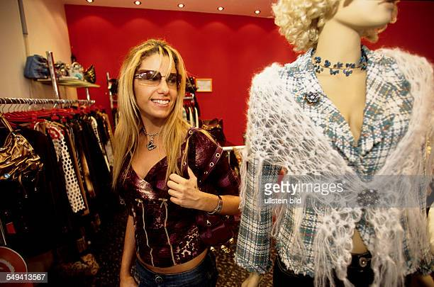 Turkey, Istanbul: Bagdad street, Eda, 20 years old, studying English language and literature, spends a lot of money for fashion and in discotheques