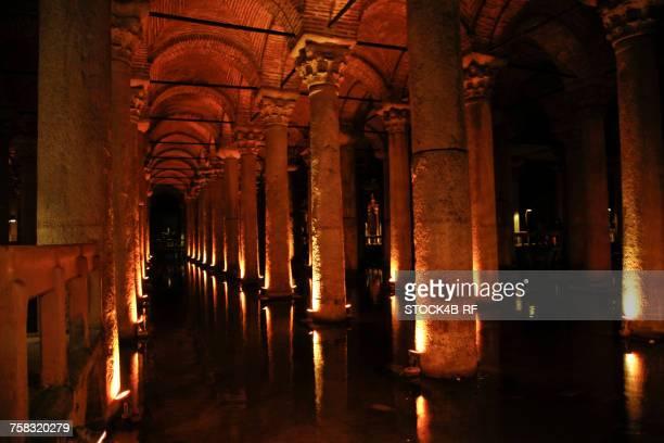 'Turkey, Istanbul, Basilica Cistern'