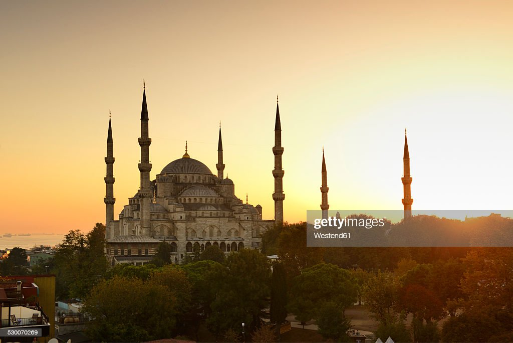 Turkey, Istanbul, Blue Mosque : Foto de stock