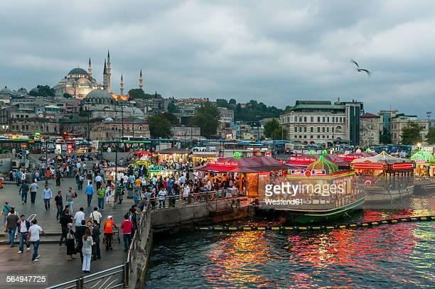 Turkey, Istanbul, Eminonu Harbor