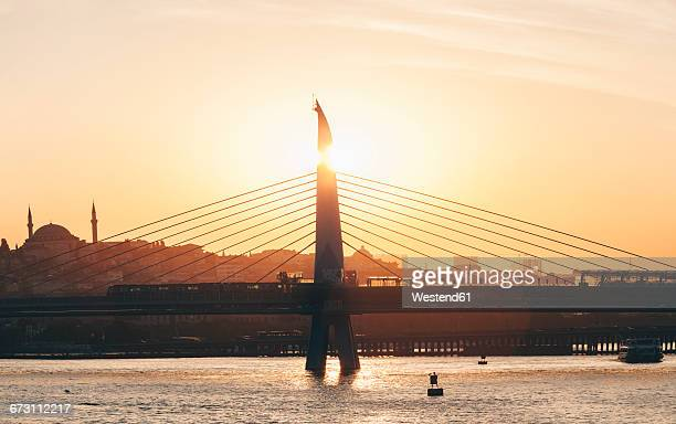 Turkey, Istanbul, Golden Horn, Bosphorus Bridge