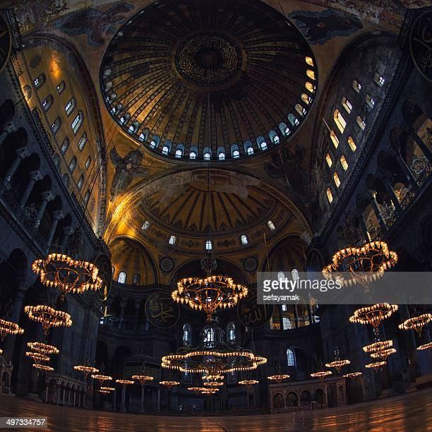 türkei, istanbul, hagia sophia - hagia sophia stock-fotos und bilder