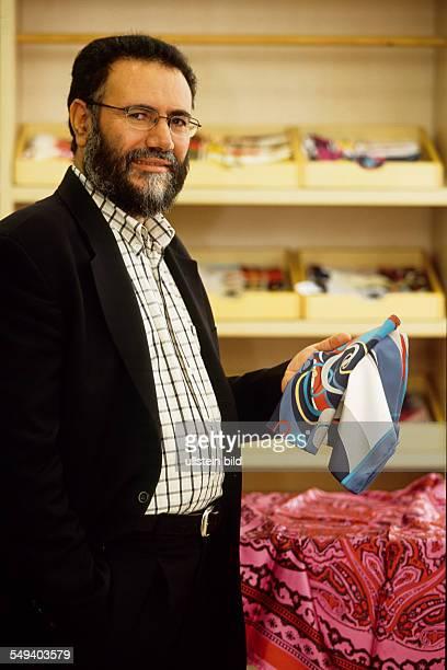 Turkey, Istanbul: Mustafa Karduman, CEO of the textile company TEKBIR, specialized in fashion for muslims