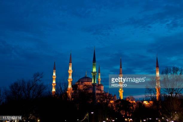 Turkey Istanbul Sultan Ahmet Mosque Moschea Blu