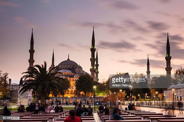 turkey, istanbul, sultanahmet, the blue mosque - anton petrus stock pictures, royalty-free photos & images