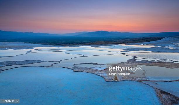 Turkey Landmark - Pamukkale at night