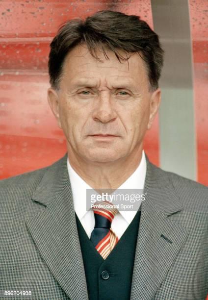 Turkey manager Fatih Terim circa 1996