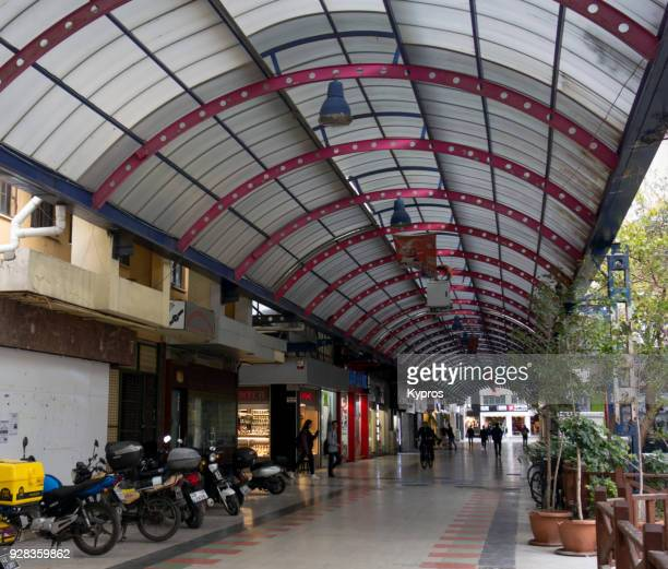 Turkey, Marmaris Area, 2017: View Of Grand Bazaar Shopping Area
