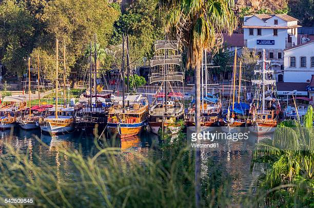 Turkey, Middle East, Antalya, Kaleici, View of the harbour
