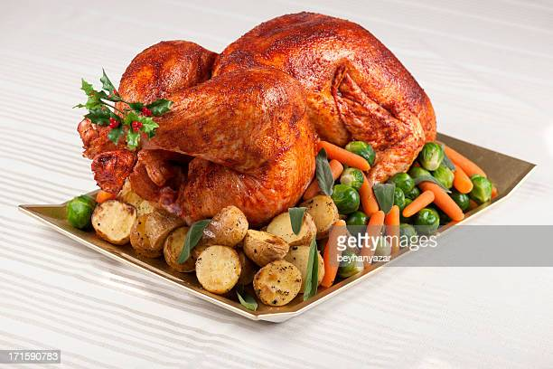 turkey - roast turkey stock pictures, royalty-free photos & images