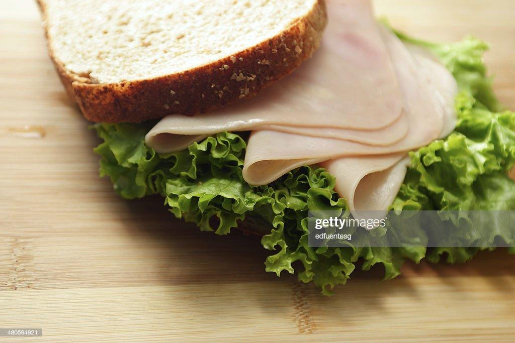 Turkey Sandwich : Stock Photo