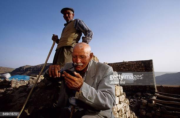 Turkey, Turkey on its way to Europe. Village Konur at the turkish-syrian border. The village was destroyed in 1992/1993 by the turkish army....